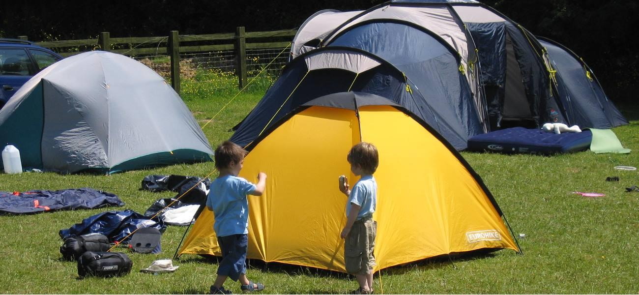 Open All Year, All Weather for Tents, Caravans, Motorhomes & RV's